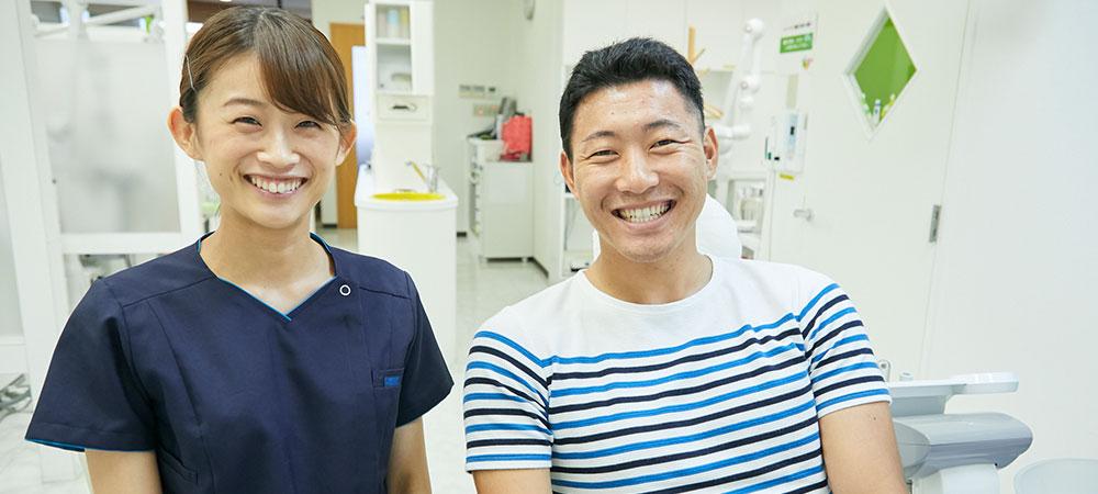 丁寧な説明をする歯科医院