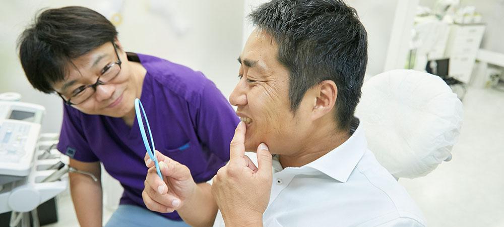 歯を抜かない治療方法
