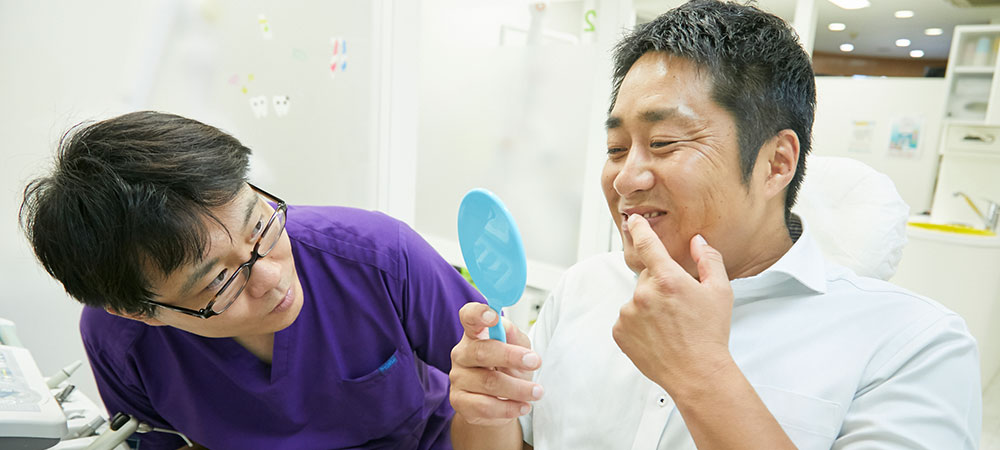 歯のホワイトニングをご希望の方